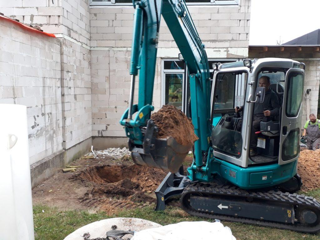 kanalizācijas izbūve