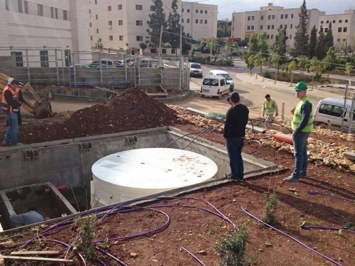 AT-40 attīrīšanas iekārtas piegāde uz Palestīnu.