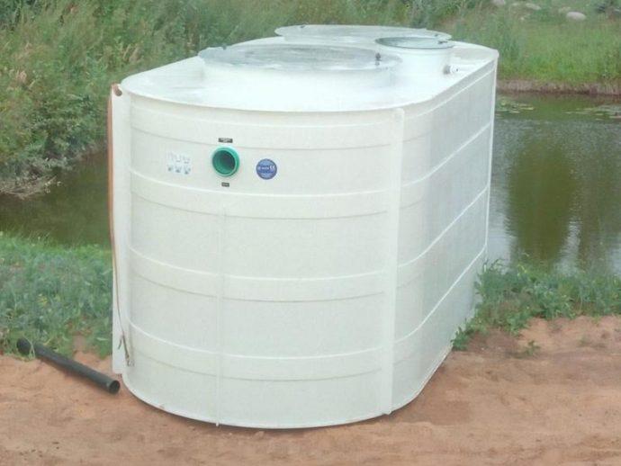 Bioloģiskās attīrīšanas iekārtas ATO-40 montāža.