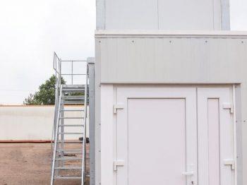 ražošanas notekūdeņu attīrīšanas iekārtu modulis
